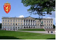 -- government building in oslo norway --