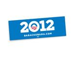 Barack Obama 2012 Sign