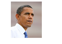 President Obama in deep thought - Photo