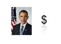 Barack Obama Net Worth - Photo and Illustration