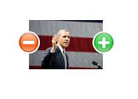 U.S. President Barack Obama - Polarized - Photo Illustration