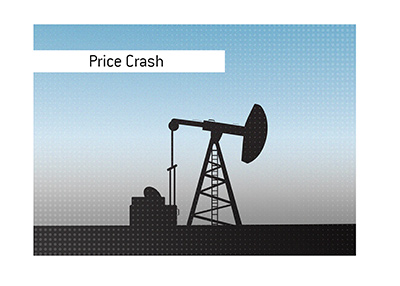 It was quite day in the markets today, with oil price crashing into the negative.