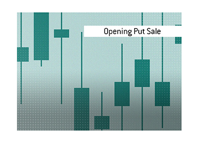 The meaning of the stock market trading term Opening Put Sale is explained by Dave in this article.
