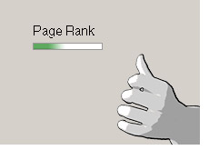 google page rank - pagerank - decreasing