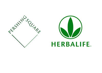 Pershing Square Capital Management and Herbalife - Company Logos