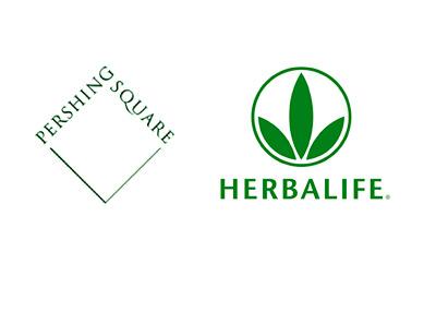 Pershing Square Capital Management and Herbalife - Company Logos