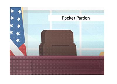 The desk of the President of United States - Pocket Pardon