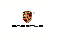 company corporate logo - porsche