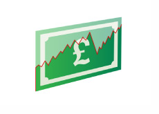 British Pound Graph - Illustration