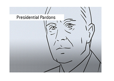The record holder for Presidential Pardons in the United States.