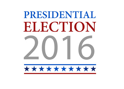 United States of America presidential election sign