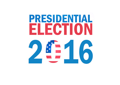 The United States (US) Presidential Election 2016 - Logo