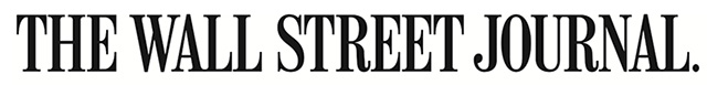 The Wall Street Journal logo - Black on white - Long
