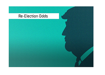 The 2020 elections are Donald Trumps to lose, according to the odds.  Illustration.