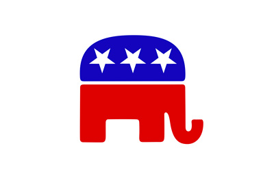 Republican Elephant - Official symbol / drawing