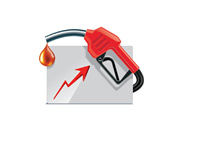 Rising Gas Prices - Illustration
