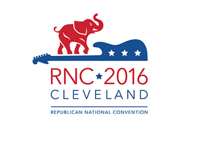 The Republican National Convention 2016 - Cleveland - Logo