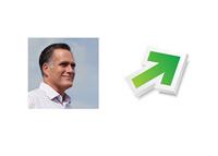 Romney ratings up - Illustration