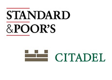 company logos citadel and standard and poors