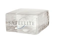 Satellite Asset Management LP logo frozen in ice cube