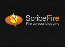 product logo scribefire - firefox plugin