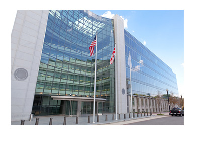 Securities Exchange Commission Building - Sunny Day