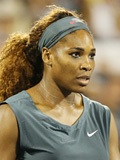 Tennis player - Serena Williams - In game photo - Sponsored by Nike