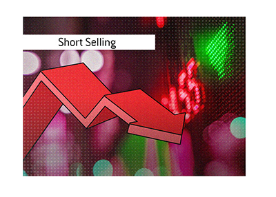 Short selling is a stock market trading technique.  Should it be illegal?