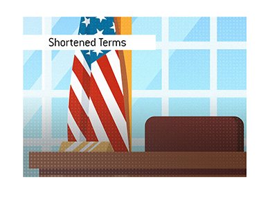 All the shortened presidential terms of the past in the United States of America.