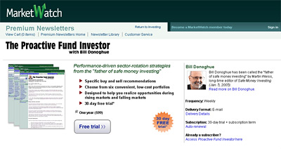 -- newsletter signup - proactive fund investor - subscribe --