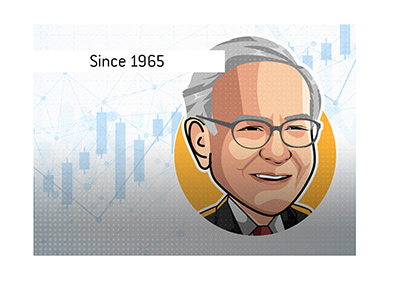 An impressive career in the stock markets - Warren Buffett.