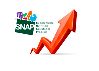 SNAP (Supplemental Nutrition Assistance Program) - Growth - Illustration