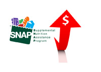 SNAP (Supplemental Nutrition Assistance Program) Rising - Illustration