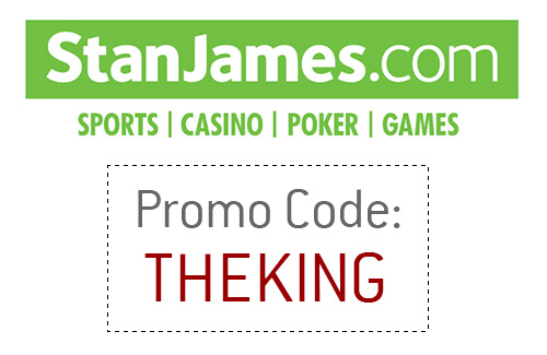 Stan James Promotional Code / Coupon - THEKING - 2017