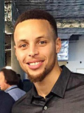 Steph Curry personal photo / selfie in civilian clothes - Year 2016