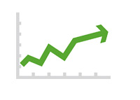 Stock Market Growth - Illustration