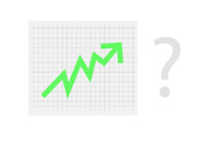 Stock Market Rise - Question Mark - Composite - Illustration