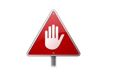 Stop / Halt / Suspend - Street Sign