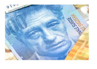 Swiss Franc - 100 Bill - Stock Photo