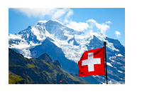 Switzerland - Alps - Flag