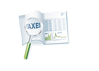 Tax Documents - Illustration