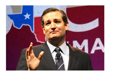 Ted Cruz - Elections photo - Texas flag