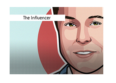 One of the biggest, if not the biggest, influencer in the world - Elon Musk.