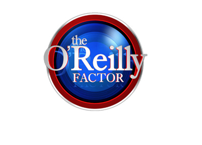 The O reilly Factor - Show logo - Year is 2017.