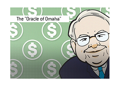 The Oracle of Omaha - Warren Buffett - Illustration.