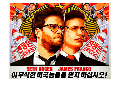The Interview - Movie Poster - Featuring Seth Rogen and James Franco - Sony
