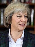 Theresa May - Profile photo - Twitter