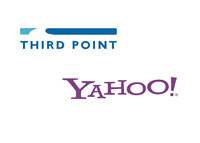 Third Point LLC and Yahoo - Company logos