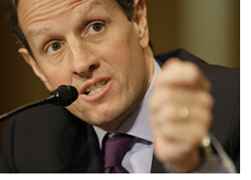 -- timothy geithner - treasury secretary --
