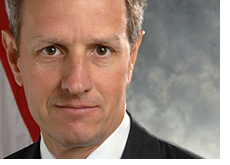 -- Treasury Secretary Timothy Geithner --